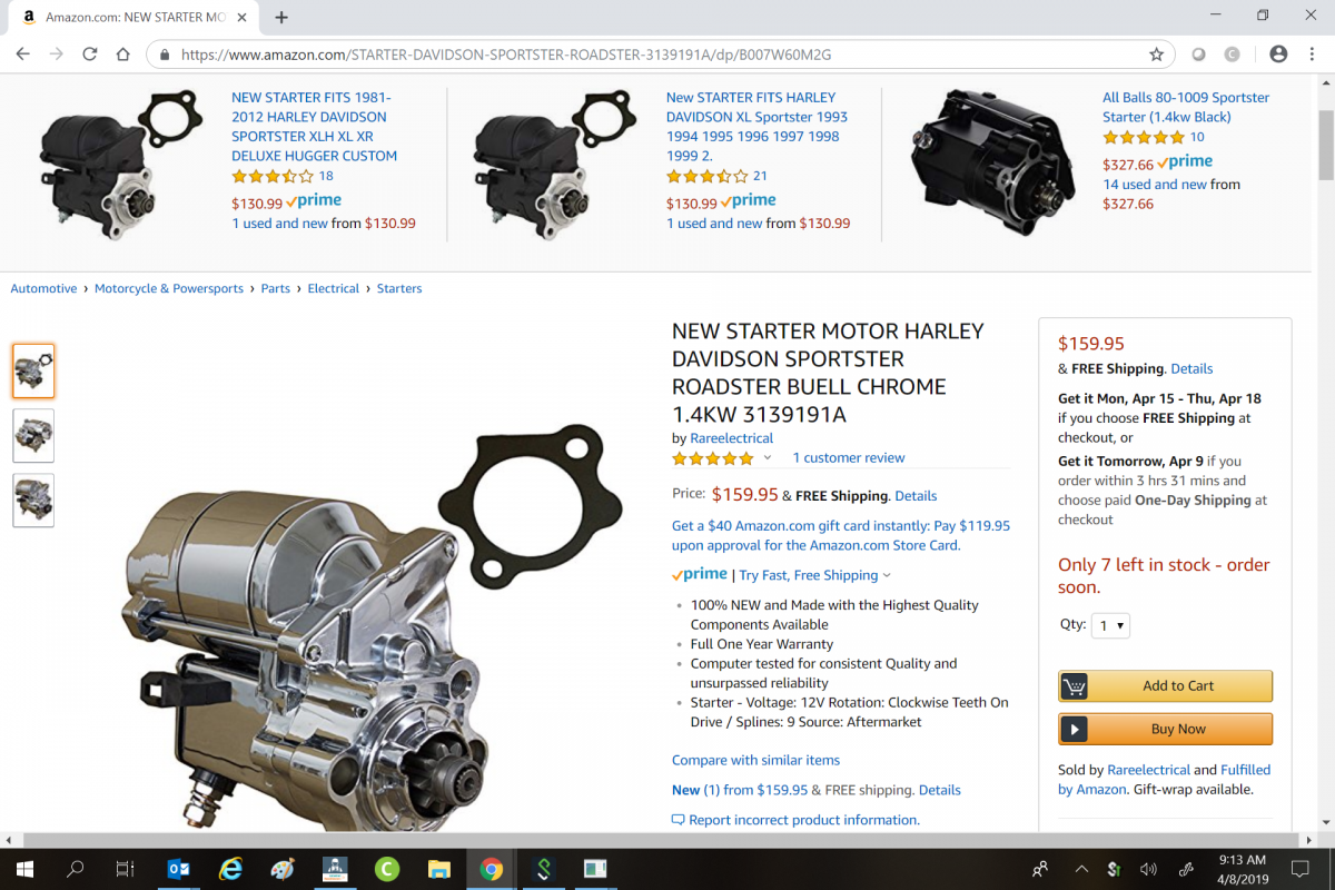 HD Sportster Starter that fits Norton 961.png