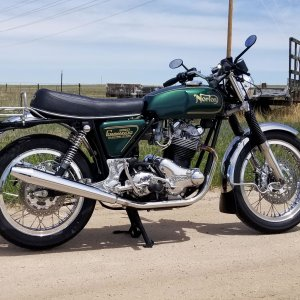 Norton Commando 850 MK3 May 2020